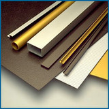 Color Anodized Aluminum Sheets, Black, Gold, Silver