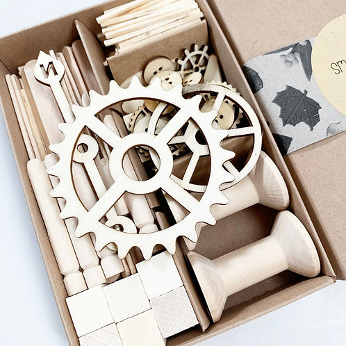 Wooden Small Parts Play