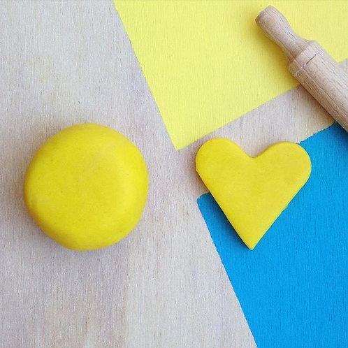 Lemon Playdough