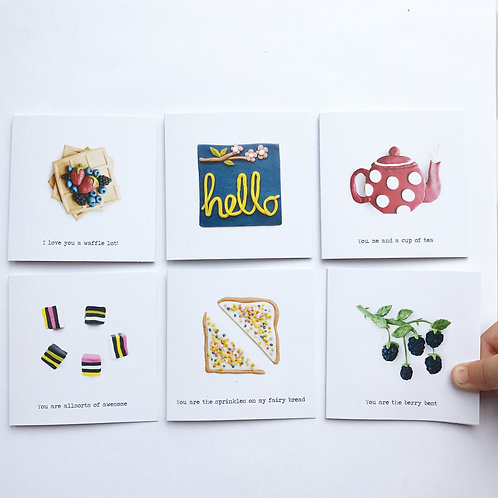 Mini Gift Cards- The Whole Set