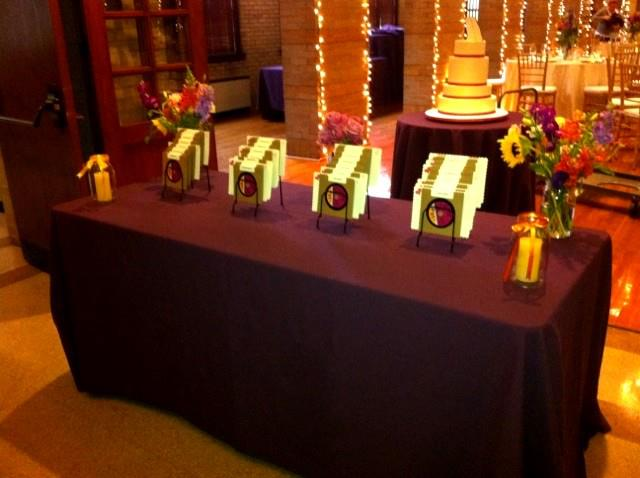 Wedding - favor table
