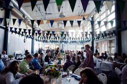 Wedding - bunting decor