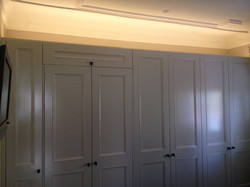 custom wardrobes with halo effect
