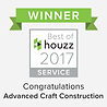 Advanced Craft Construction rated at the highest level client satisfaction