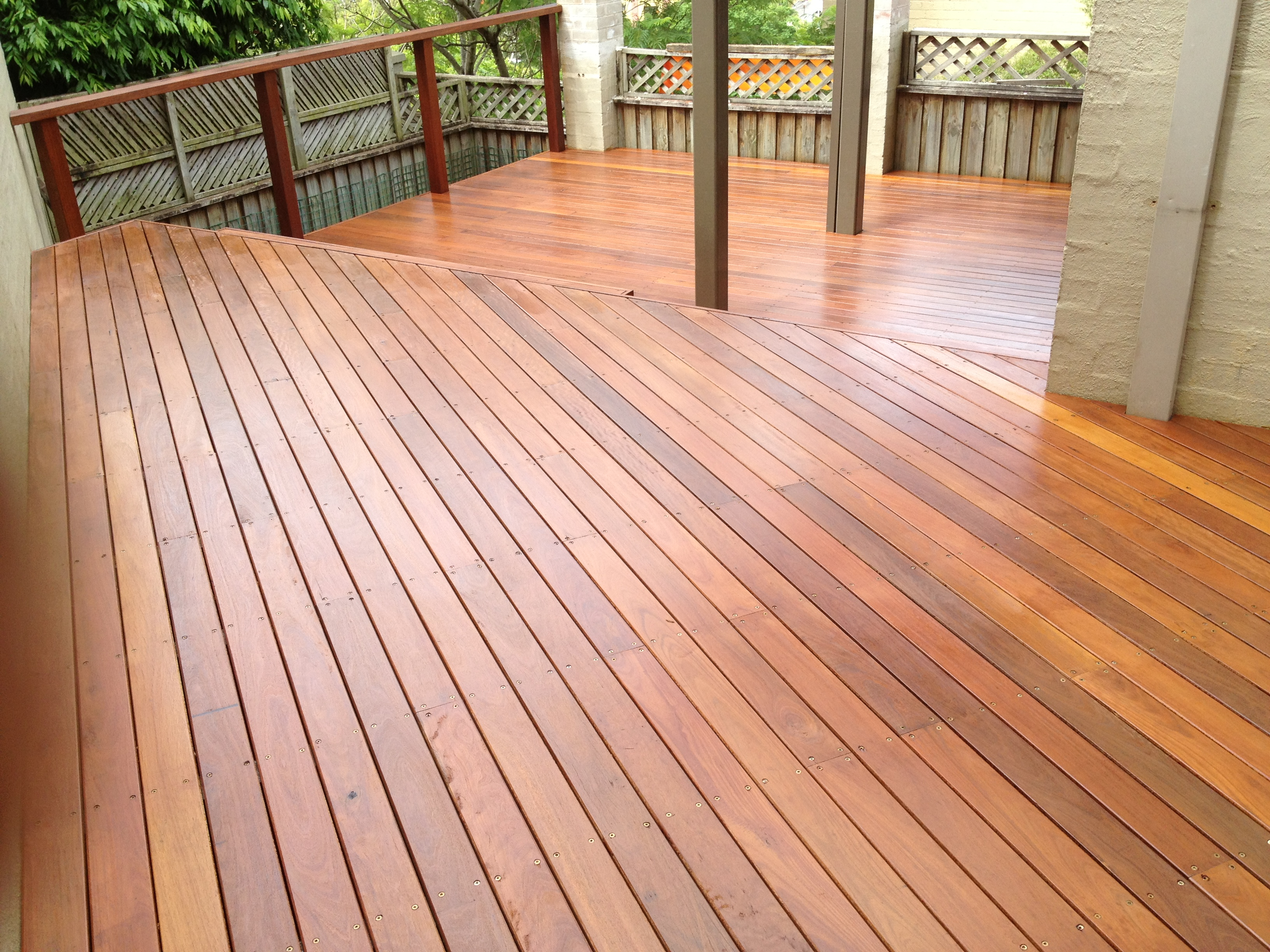 Red Ironbark deck