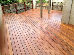 Red Ironbark deck