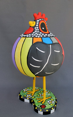 Stripe Gourd Kooky Chicken