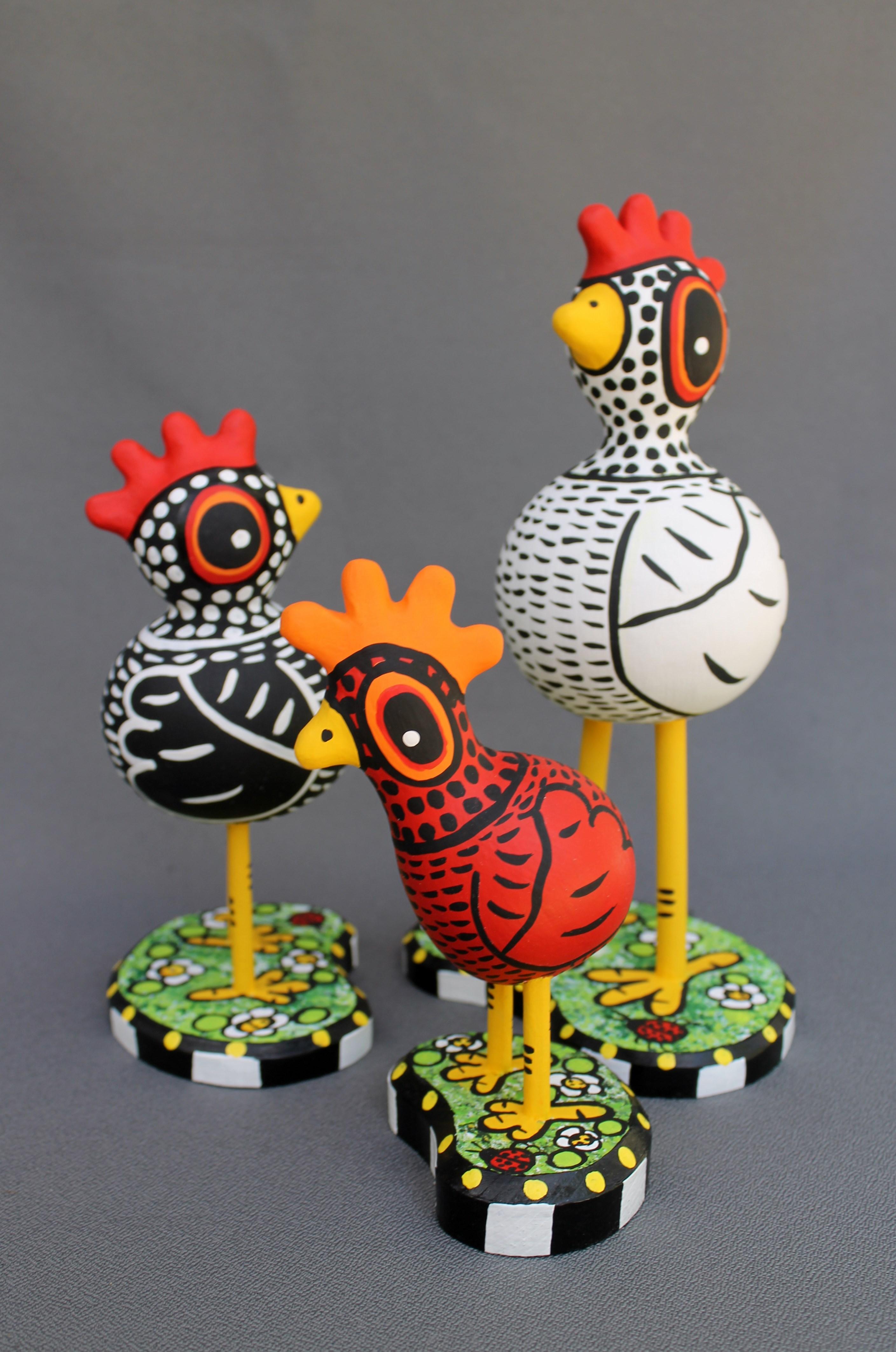 Mini Gourd  Kooky Chickens
