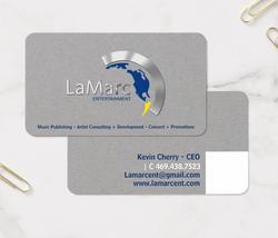 LaMarc Ent Business Card