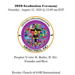 Graduation Ceremony SOP Program cover 20