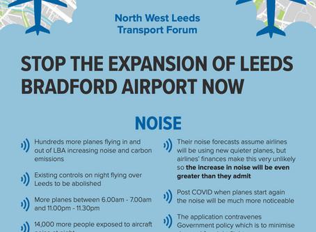 North West Leeds Transport Forum Flyer