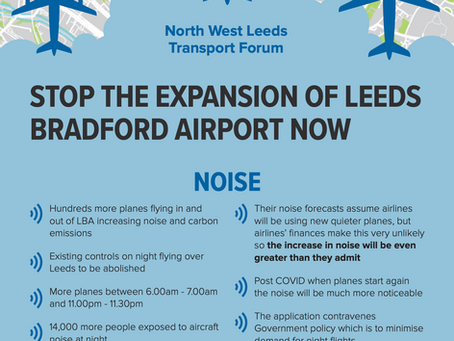 North West Leeds Transport Forum Flyer