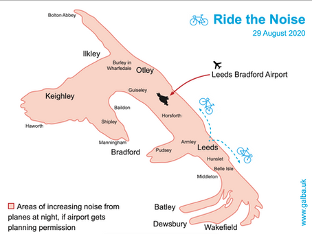 Press Release: Ride the Noise - Riding LBA's Map to Highlight Areas Affected by Increased Noise