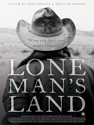 Lone Man's Land poster alternative