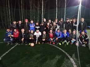 Награждение победителей и участников Кубка ННФЛ 5х5