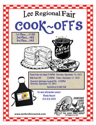 2021 Cook-Offs