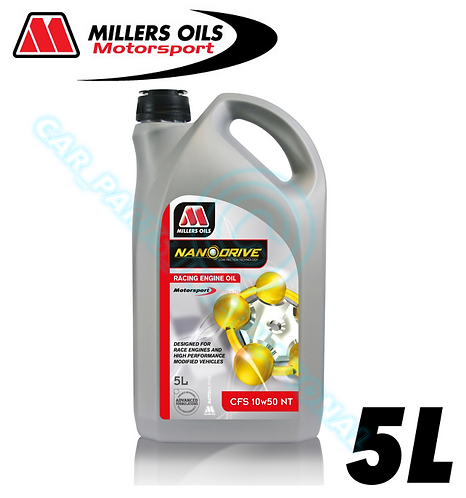 Millers Oils 10w/50 NT 5 Litres