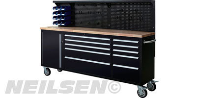 "Neilsen 84"" Toolbox with Upstand"
