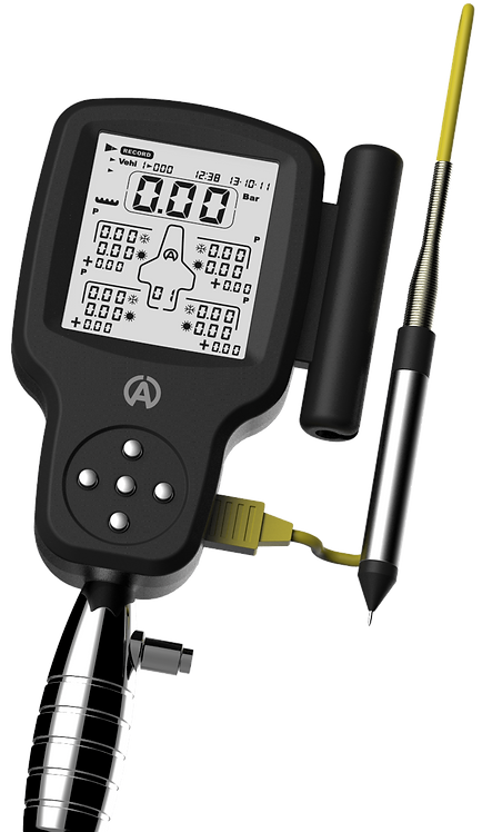 NEW A1910 - Tyre Control 2 Digital Air Pressure Gauge with integrated temps