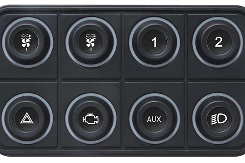 ECUMaster 8 Key CANBUS Key Pad