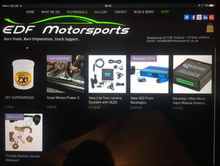 Website is moving on hope to launch pre Autosport