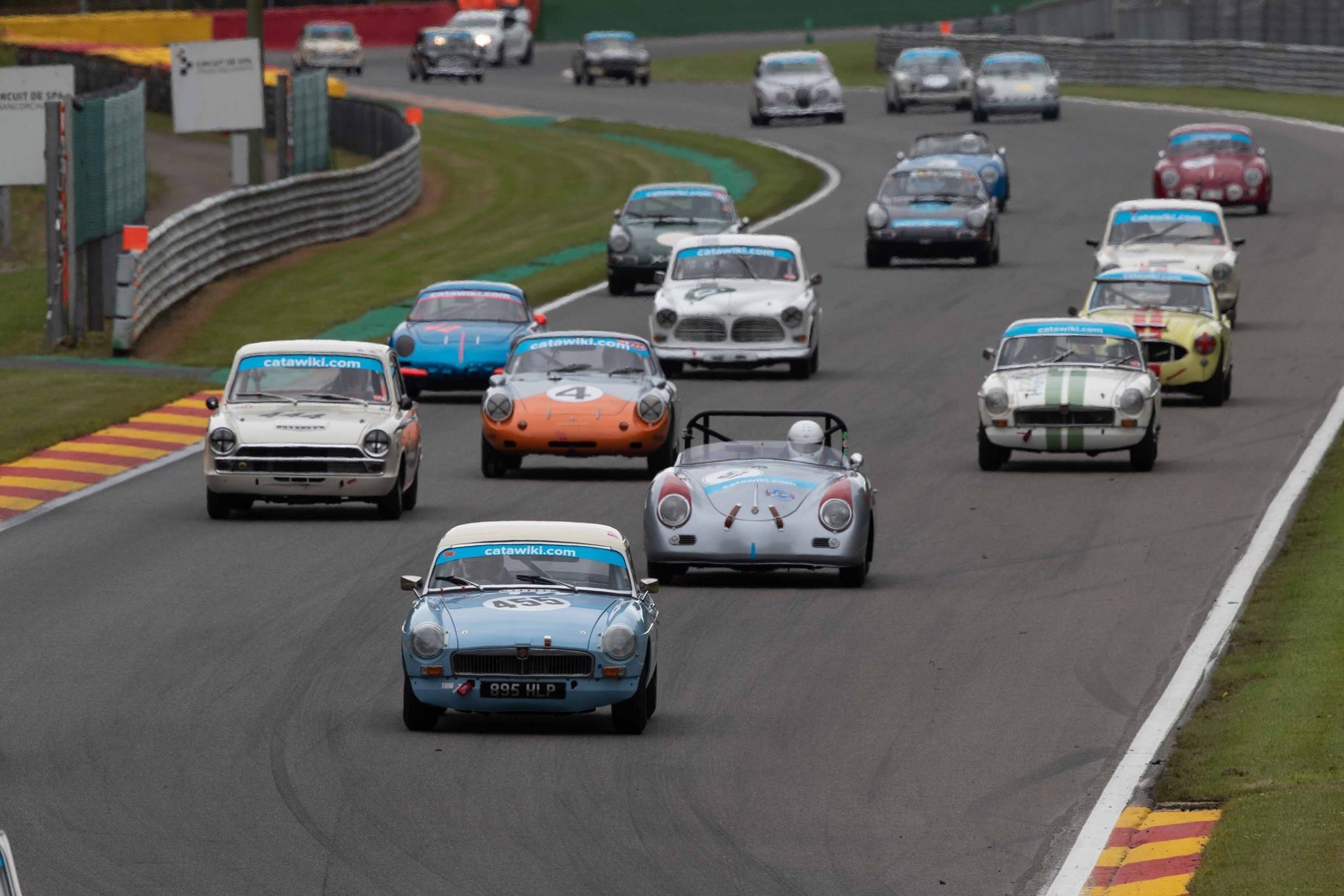 MGB Leads The Pack Spa 2018