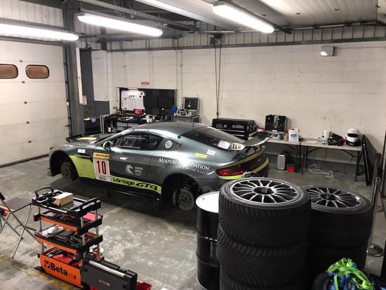 Garage Set up Brands Hatch
