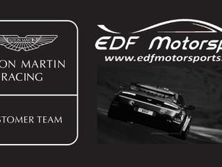 AMR Customer Team status given to EDF Motorsports..
