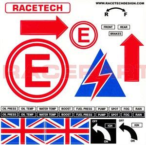 Safety Sticker Sheet