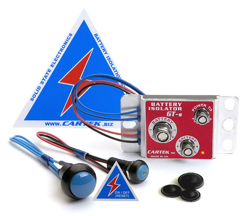 CARTEK Battery Isolator GT KIT