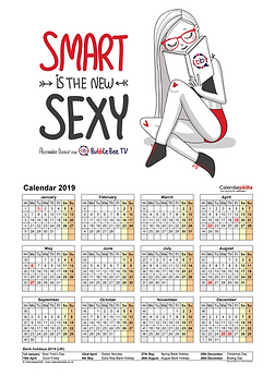 Smart is the New Sexy 2019 calendar.png