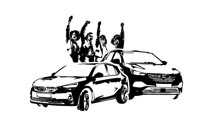 Opel Corsa-e Grandland X