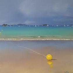 Bouée sur la plage de St Lu