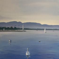 Sunny Geneva Lake