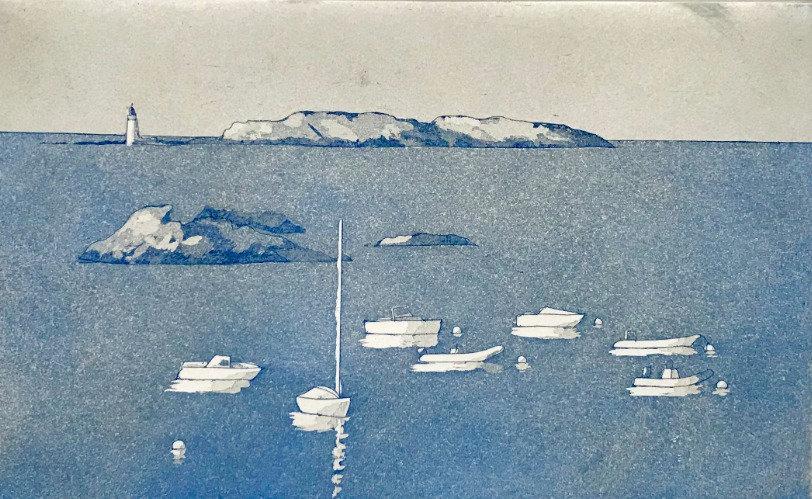 Cézembre Island - ultramarine