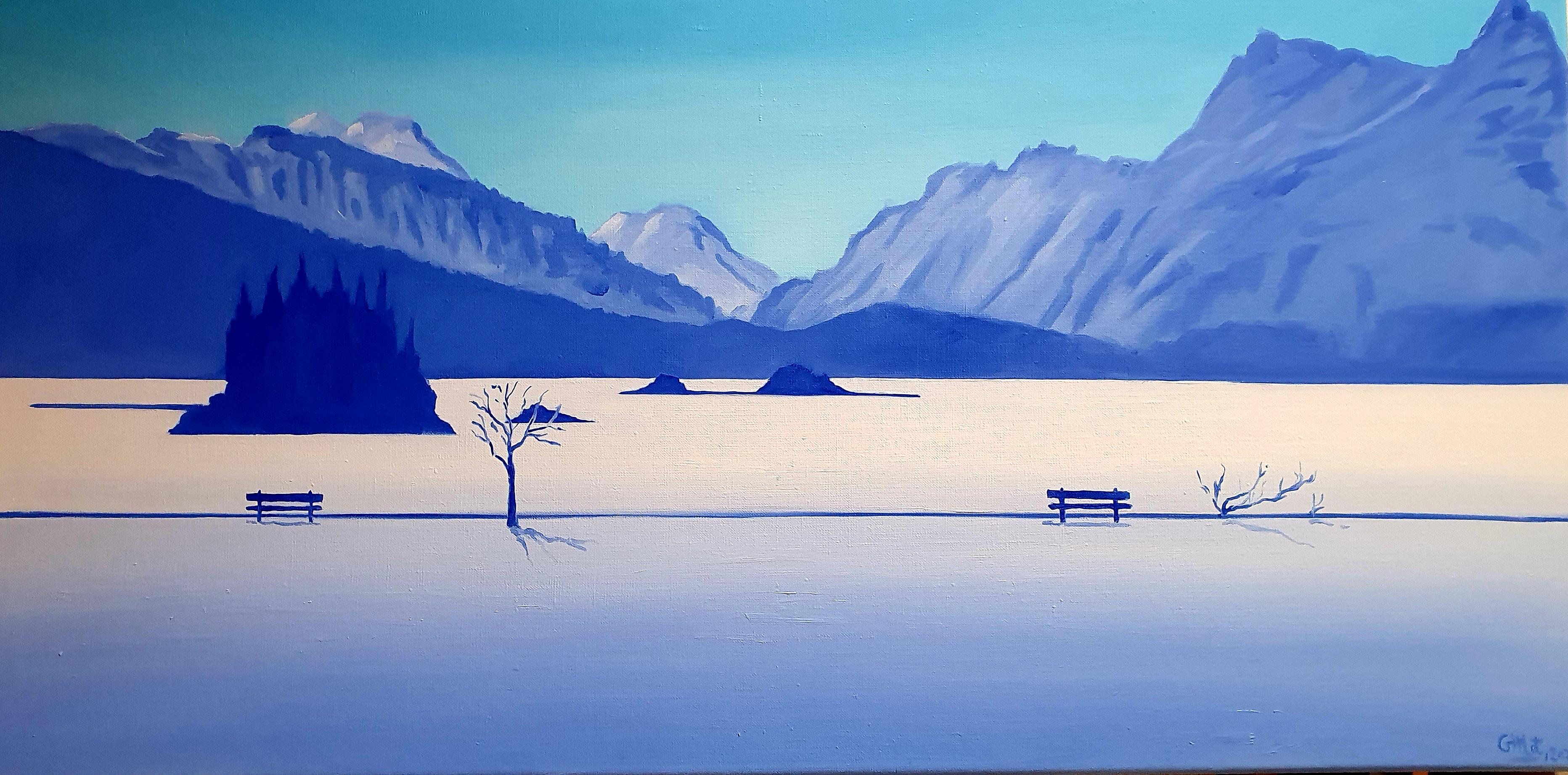 Isola en bleu