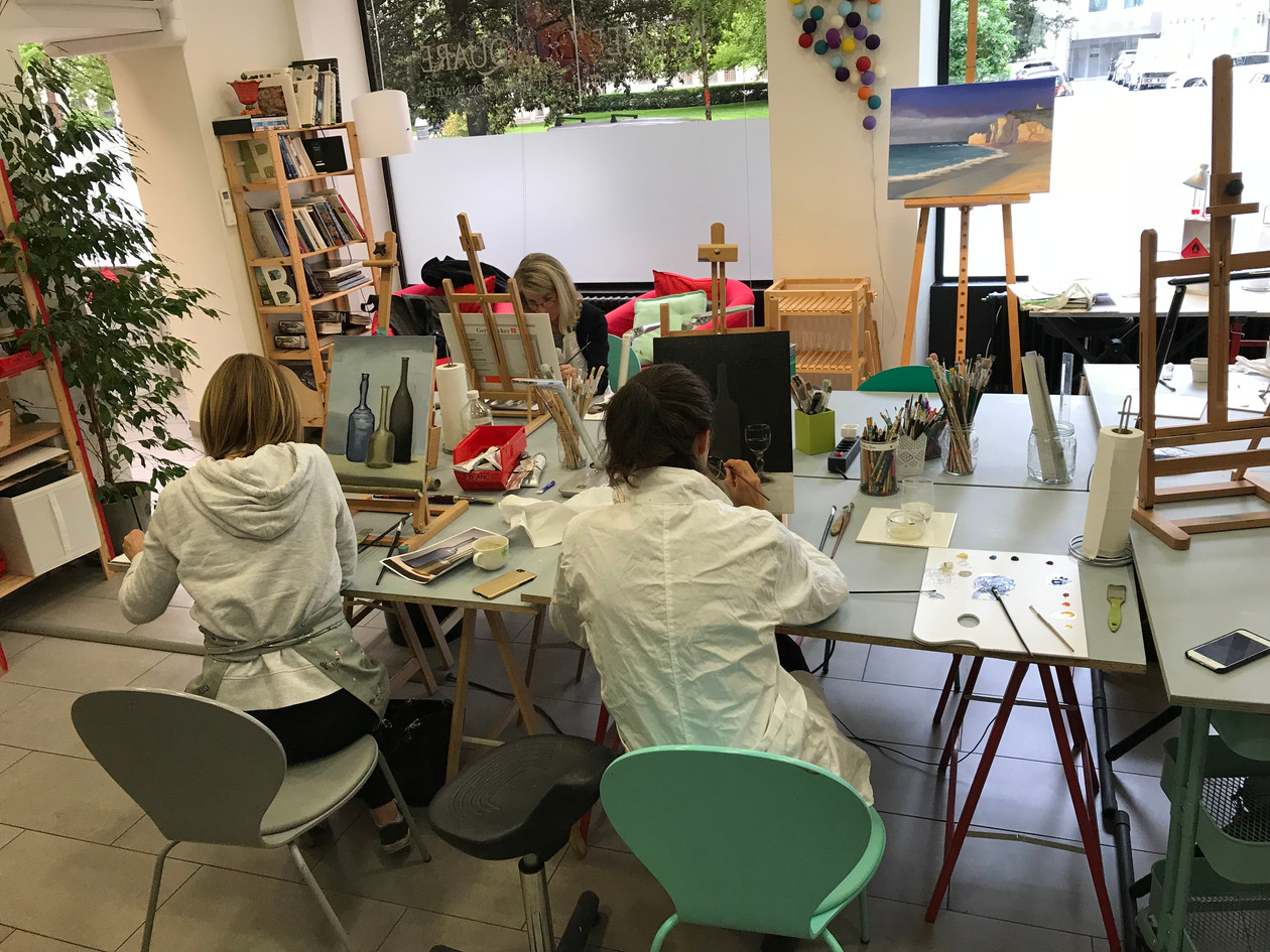 Studio in Geneva