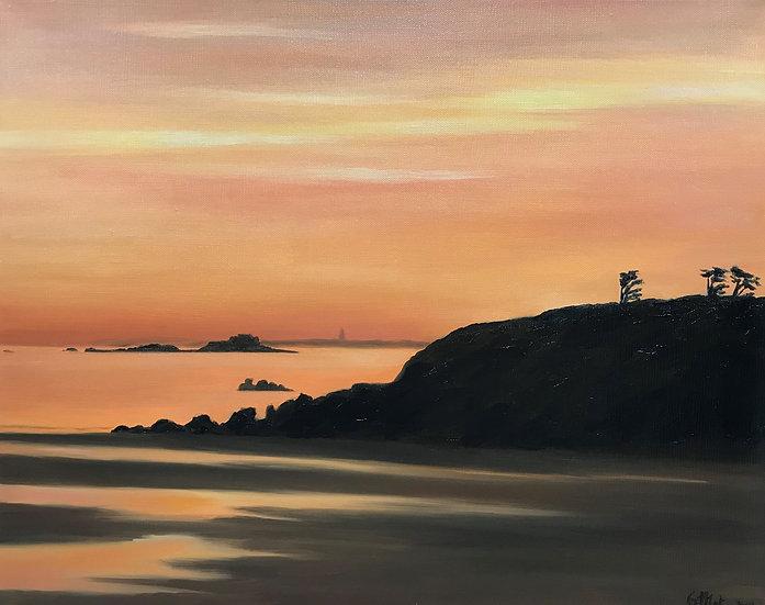 Sunrise on the Nick Rock