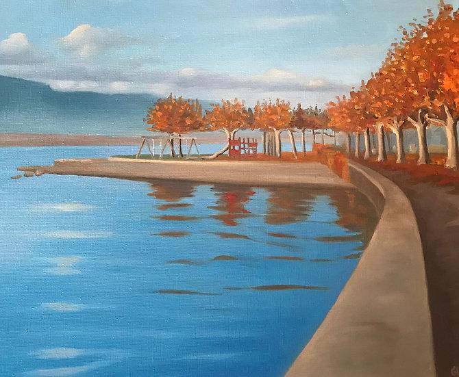 Autumn in Hermance
