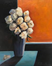 peinture bouquet