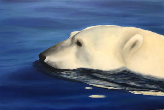 tableau ours cours de peinture geneve.jp