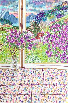 Lilas à Annecy, Laure, 2020