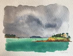 Le Nessay dans la tempête