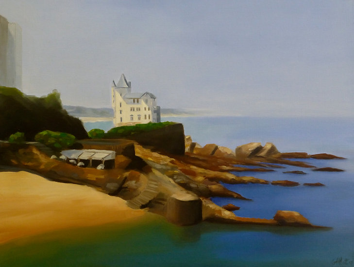 La Villa Belza à Biarritz