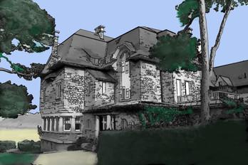 Vue sur Villa, Philippe, 2020