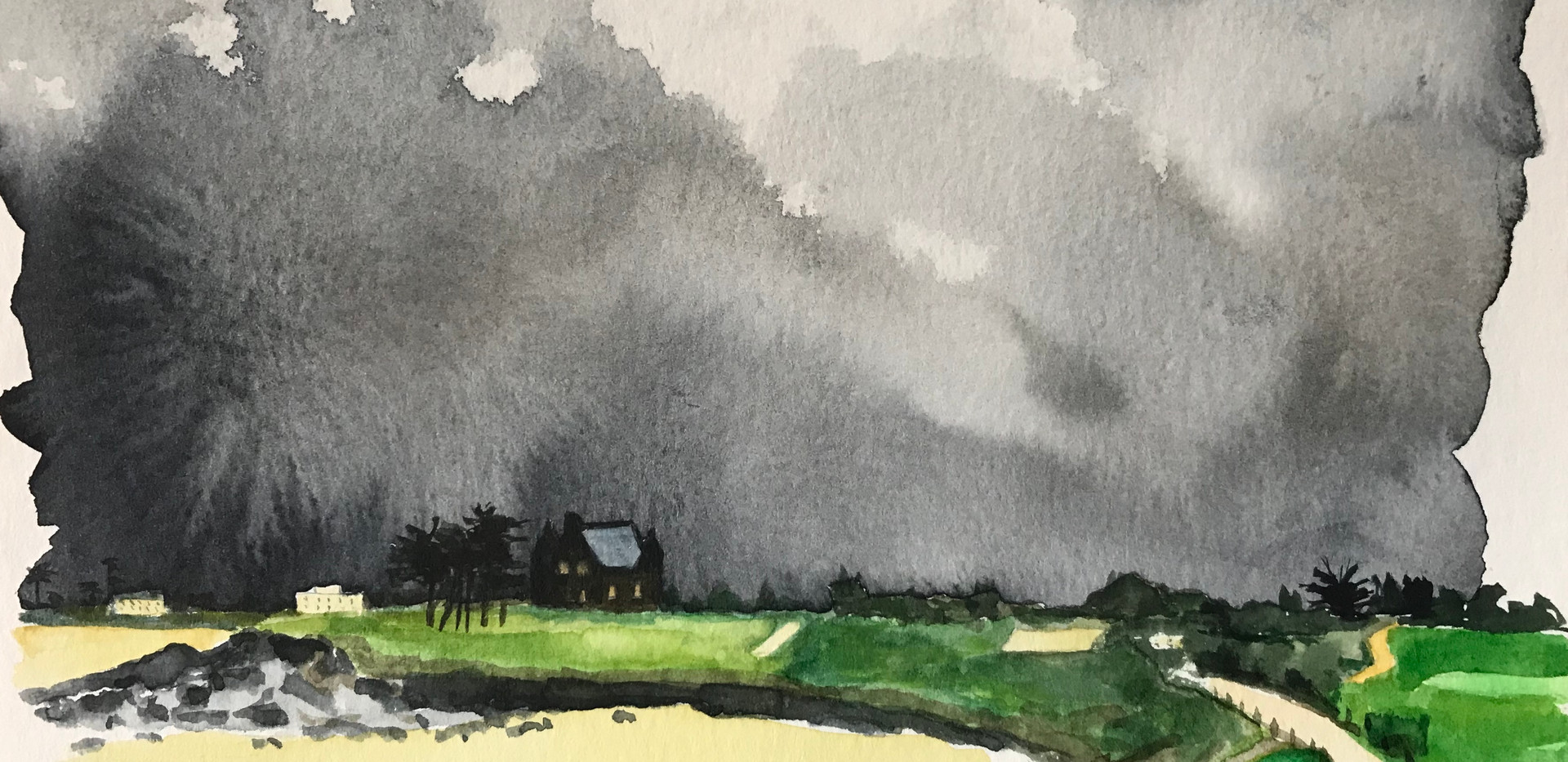 Storm on the Dinard Golf