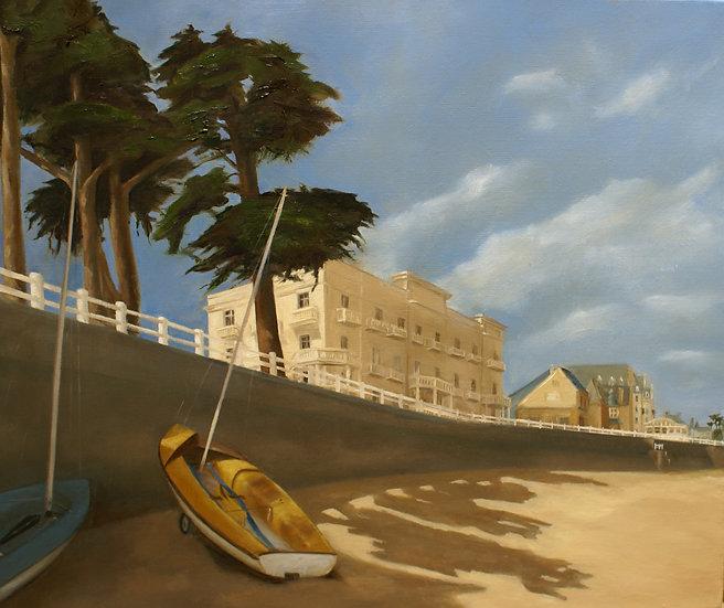 Après la régate, Yacht Club de Saint-Lunaire