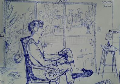 Jeux intérieurs, Valérie, 2020