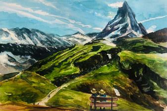 Matterhorn of hope, Maria, 2020