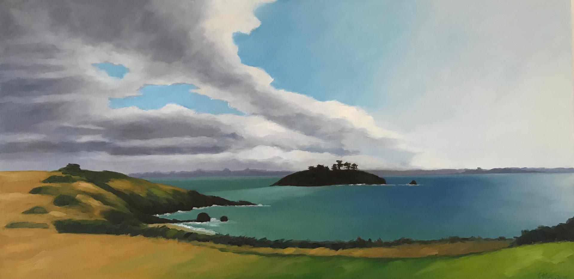 Painting Dinard Golf